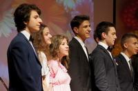 Торжественная церемония, посвященная окончанию учебного года для учащихся 9-х классов
