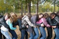 Осенний слет для учащихся 8-9 классов
