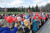 Участие в Марше памяти