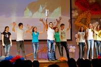 Торжественная церемония, посвященная окончанию учебного года для учащихся 9 классов