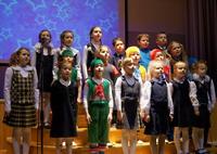 Новогодняя программа отделения дополнительного образования «Новогодний звездопад»